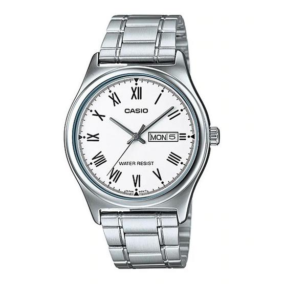Casio นาฬิกาข้อมือชาย MTP-V006D-7B