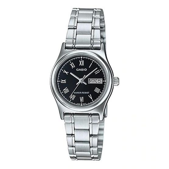 Casio นาฬิกาข้อมือหญิง LTP-V006D-1B