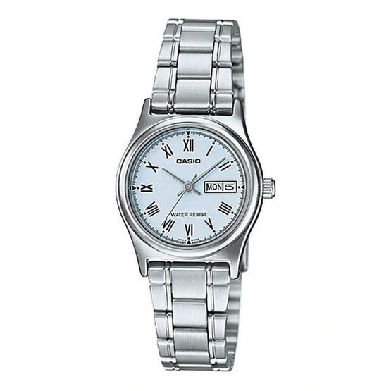 Casio นาฬิกาข้อมือหญิง LTP-V006D-2B