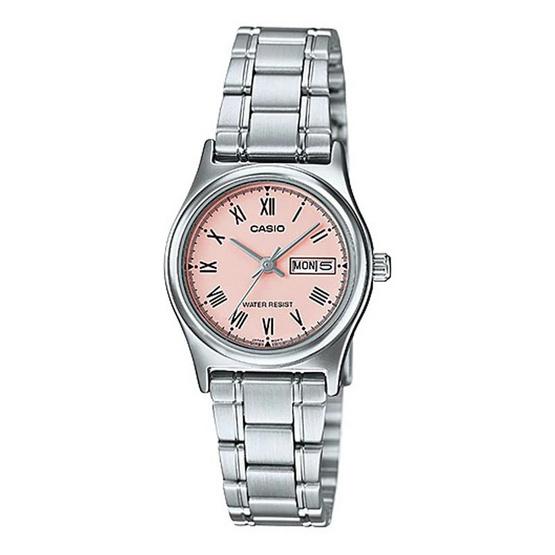 Casio นาฬิกาข้อมือหญิง LTP-V006D-4B