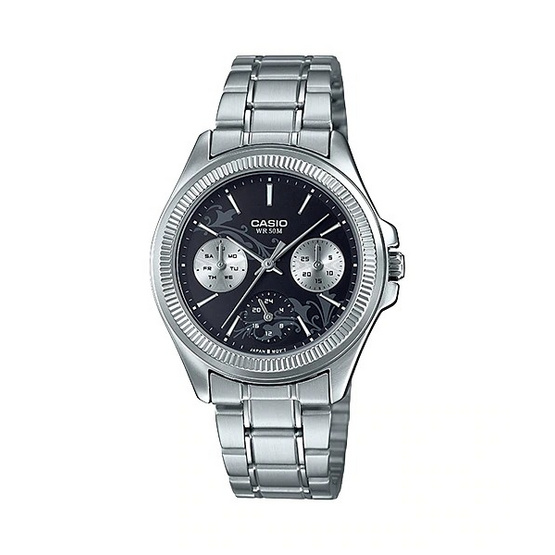 CASIO นาฬิกาข้อมือผู้หญิง รุ่น LTP-2088D-1A2VDF