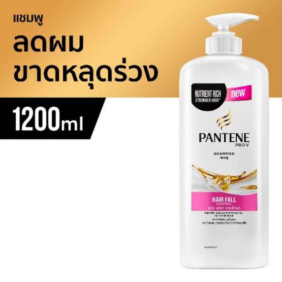 Pantene แชมพู สูตร แฮร์ฟอลคอนโทรล 1200 มล. (แพ็ค 6)
