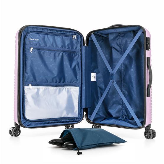 KAMILIANT กระเป๋าเดินทาง รุ่น KAMI 360 ขนาด 25 นิ้ว SPINNER 68/25 EXP TSAROSE PINK