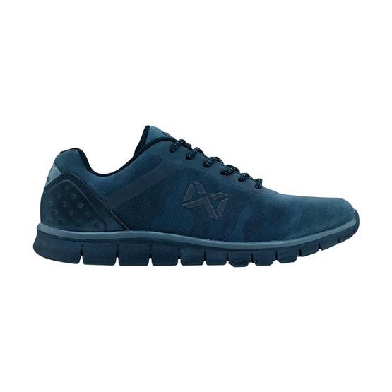 Warrix รองเท้า MAXIMUM RUNNER WF 1306 สีดำ/เทา AA
