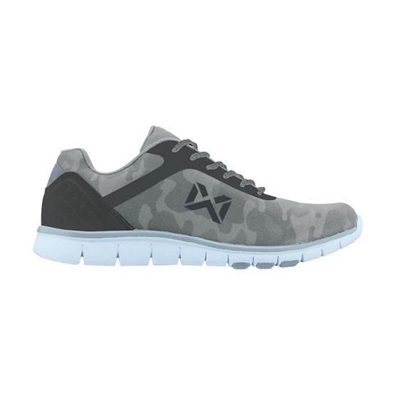 Warrix รองเท้า MAXIMUM RUNNER WF 1306 สีขาว/เทา WE