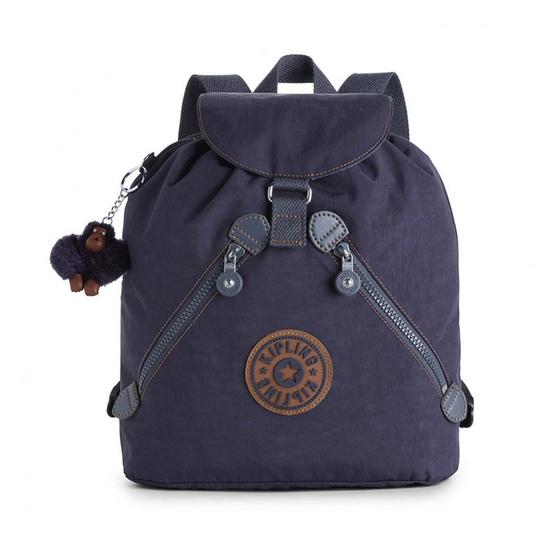 กระเป๋า Kipling Bustling - Blue Tan Block[MCK1699830G]