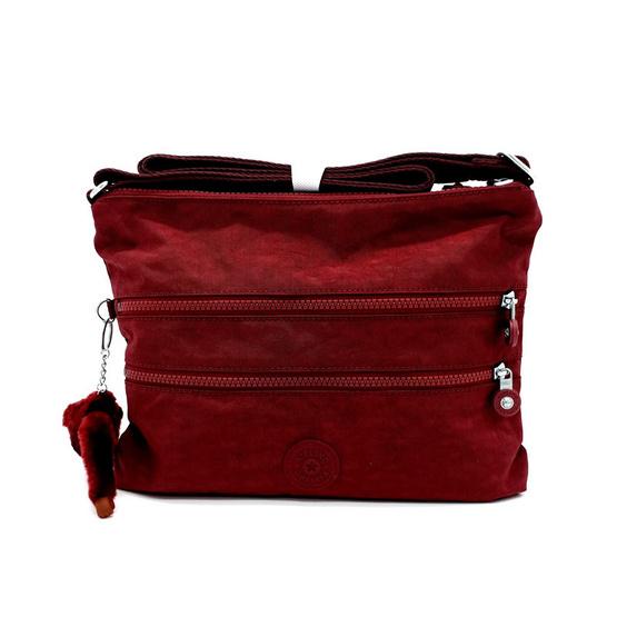 กระเป๋า Kipling Alvar - Burnt Carmine C[MCK1333547F]