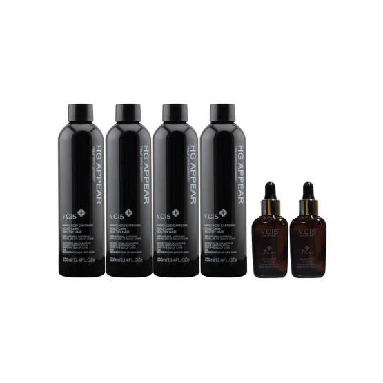 VCI5 Amino acid caffeine Gene Shampoo250 ml. 4Pcs. + essence 50 ml. 2Pcs.