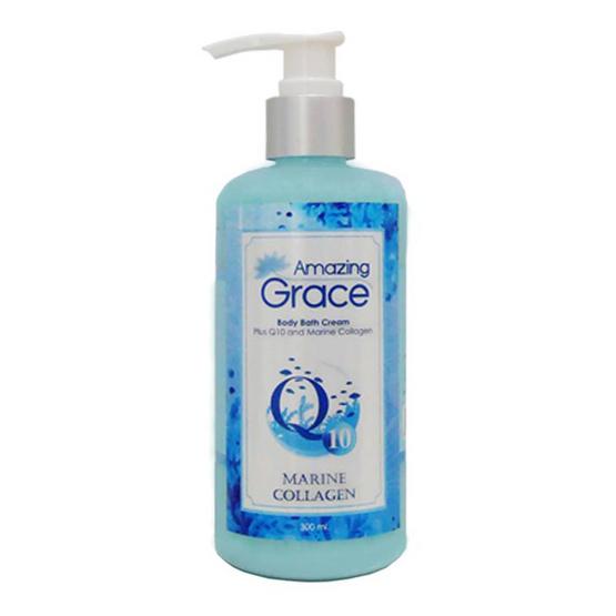 Amazing Grace ครีมอาบน้ำ Plus Q10 and Marine Collagen 300 มล.