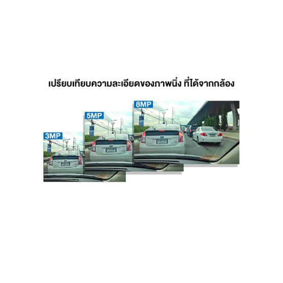 Aston กล้องติดรถยนต์ หน้า-หลัง Super 7 พร้อม Memory 8Gb