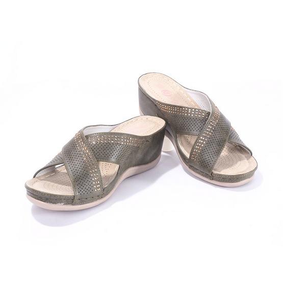 รองเท้าก้าวสบาย รุ่น 9227-2-BK
