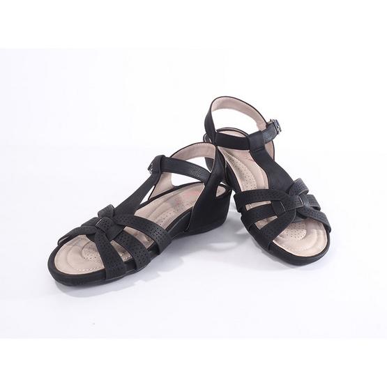 รองเท้าก้าวสบาย รุ่น BZZ218-11-BK