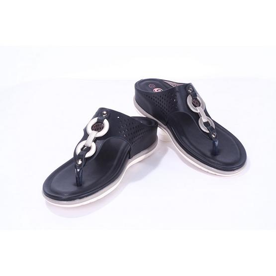รองเท้าก้าวสบาย รุ่น BZZ918-5-BK