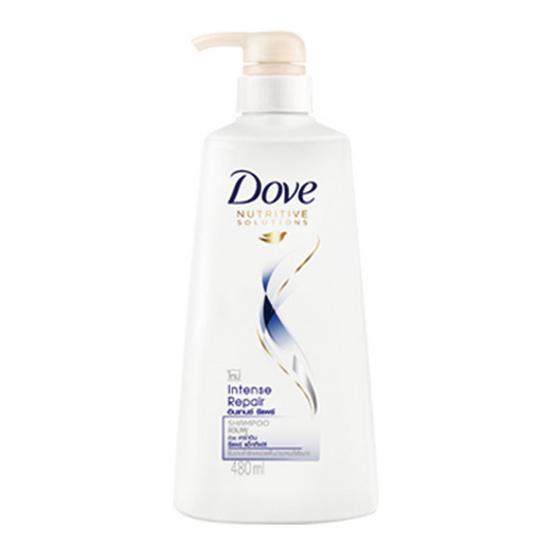 Dove แชมพู สูตรอินเทนซ์ รีแพร์ 480 มล.