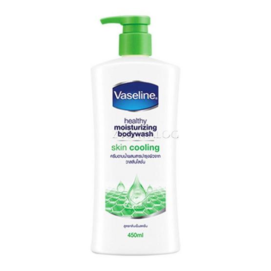 Vaseline ครีมอาบน้ำ สูตรสกินคูลลิ่ง 450 มล.