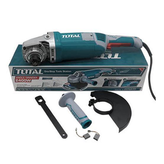 Total เครื่องเจียร์ไฟฟ้า 7 นิ้ว รุ่น TG 1251806 2400 W