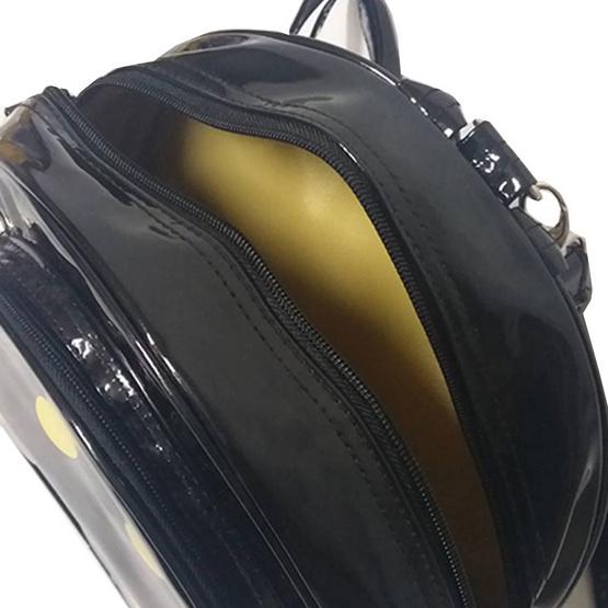 TOMIGA TG61002 กระเป๋าเป้หน้ายิ้มสีดำ