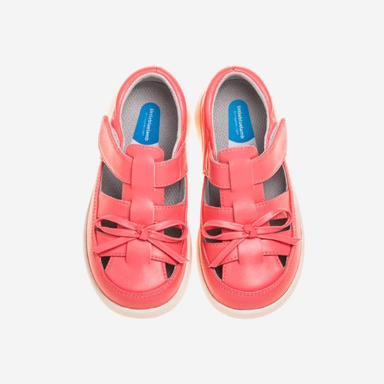 Little Blue Lamb รองเท้าคัชชูสีชมพู