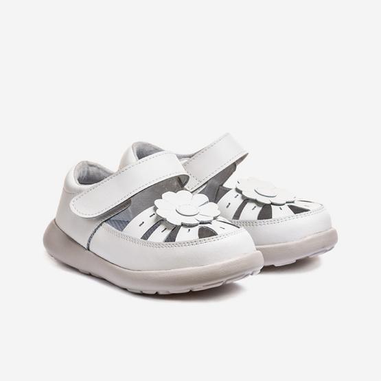 Little Blue Lamb รองเท้าคัชชูสีขาว