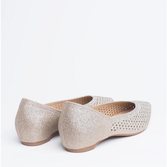 D'ARTE รองเท้า LUCIA FLATS D55-19014-GLD