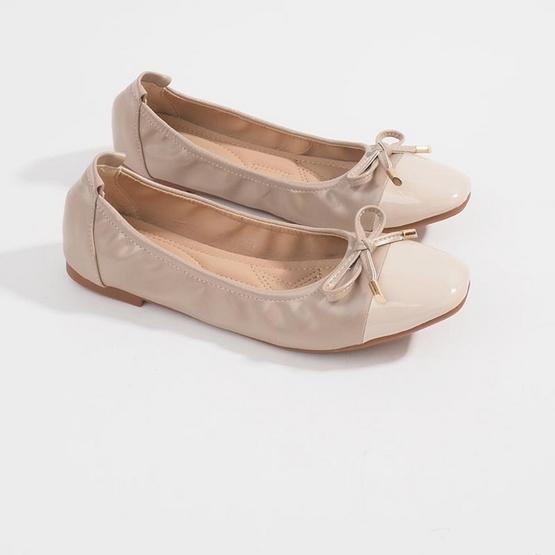 D'ARTE รองเท้า LAUREN FLATS D55-19903-BGE