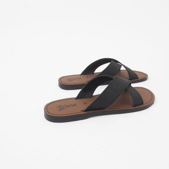 D'ARTE รองเท้า HARDY FLAT SANDALS D56-18142-BLK