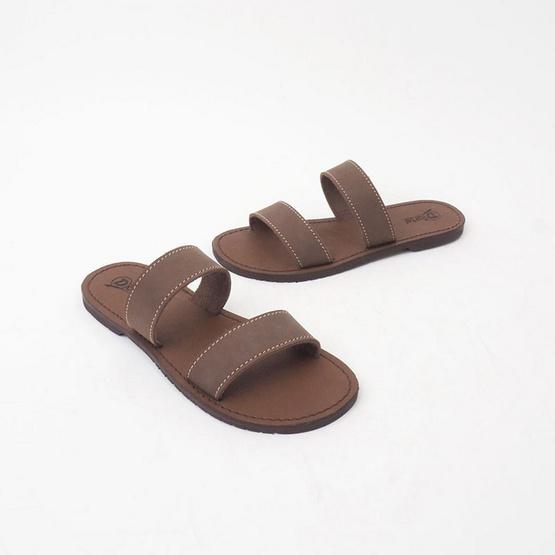D'ARTE รองเท้า DAREN FLAT SANDALS D56-18143-BRN