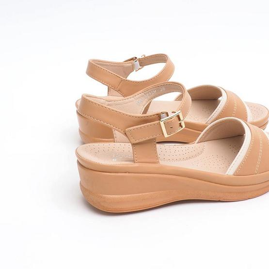 D'ARTE รองเท้า REVA COMFORT D66-18129-TAN