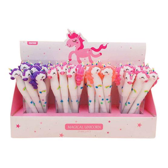 GLORIOUS ปากกาเจล Magical Unicorn2 คละสี (กล่อง40ด้าม)