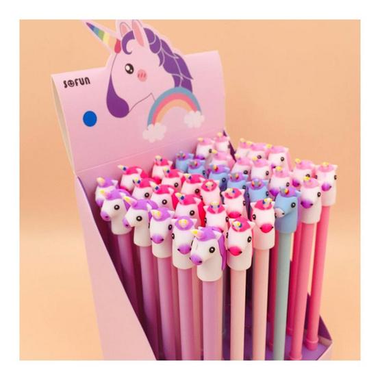 GLORIOUS ปากกาเจล Unicorn2 คละสี (กล่อง 36 ด้าม)