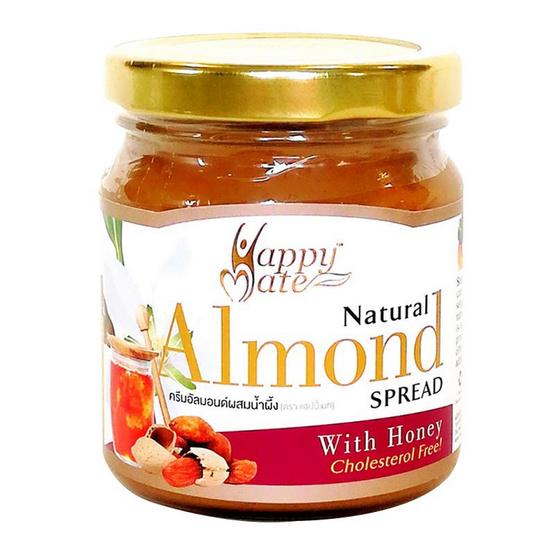 แฮปปี้เมท ครีมอัลมอนด์ ผสมน้ำผึ้ง 200 กรัม