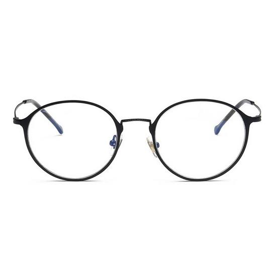 Jackal แว่นกรองแสงสีฟ้า OP006 เฟรมสีดำ