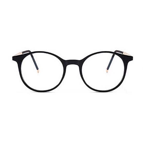 Jackal แว่นกรองแสงสีฟ้า OP008 เฟรมสีดำ ขาสีทอง
