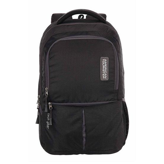 AMERICAN TOURISTER กระเป๋าเป้รุ่น TECH GEAR LAPTOP BACKPACK 01 สี BLACK