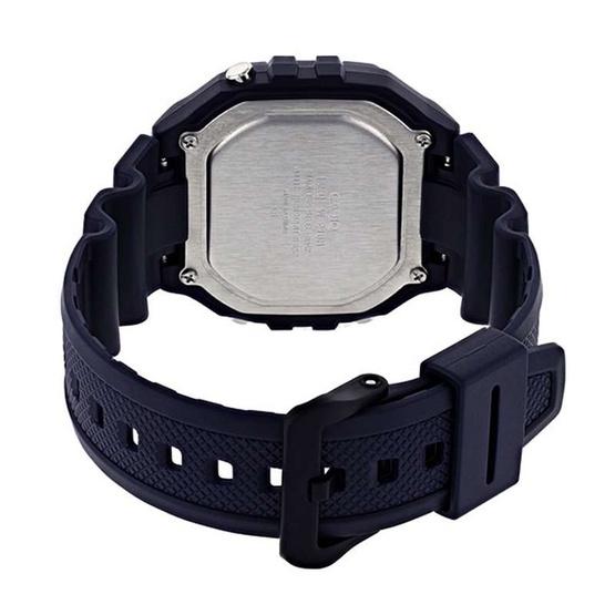 Casio นาฬิกาข้อมือ รุ่น W-218H-2AVDF