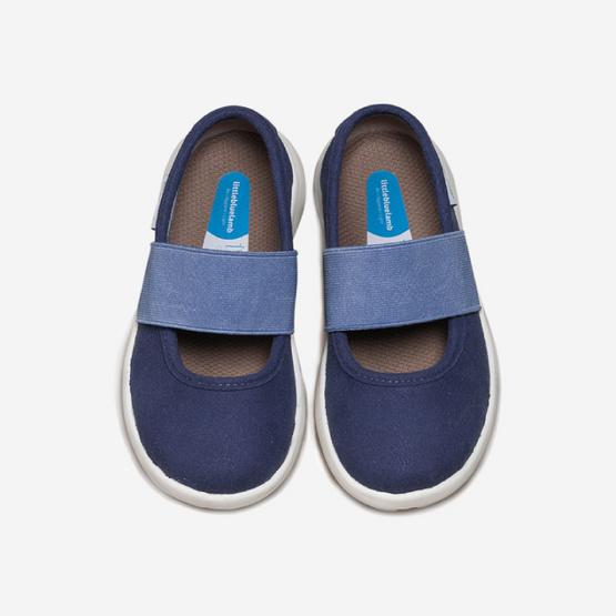 Little Blue Lamb รองเท้าคัชชูสีน้ำเงิน