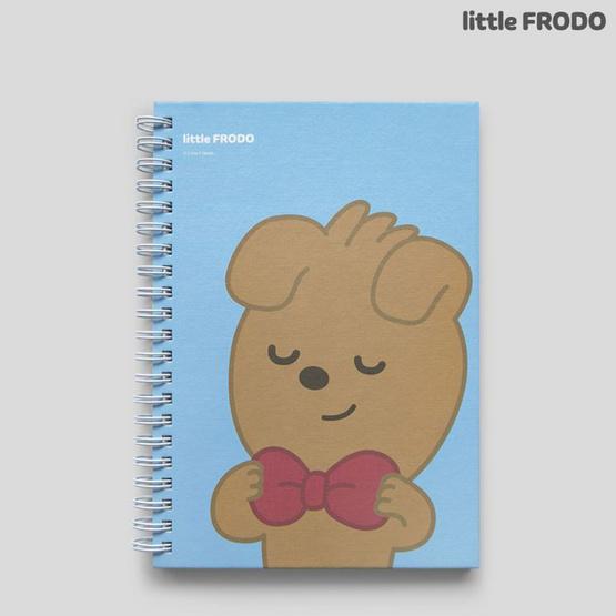 GLORIOUS สมุดบันทึกสันห่วง Kakao Friends 140x186 มม. (คละลาย คละสี1เล่ม)