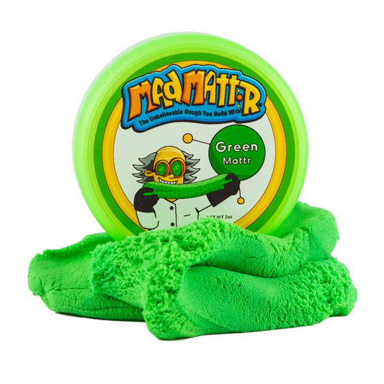 Mad Mattr แป้งโดว์ ควอนตัม พอด สีเขียว