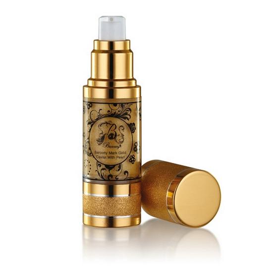 มาสก์หน้าขาว-Barcony Mask Gold Caviar With Pearl
