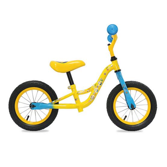 LA Bicycle จักรยานเด็กขาถีบ Minions Walk Bike 12 นิ้ว Yellow
