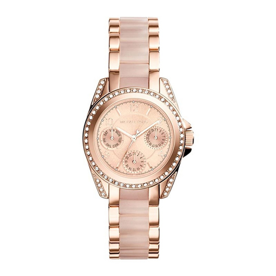 Michael kors นาฬิกา MK6175 Ladies Michael Kors Mini Blair Watch