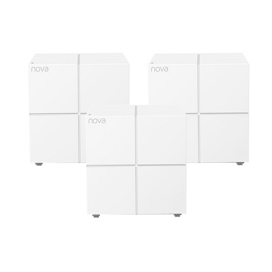 Tenda NOVA-MW6-P3 AC1200 Whole-home Mesh WiFi System Gigabit Pack3