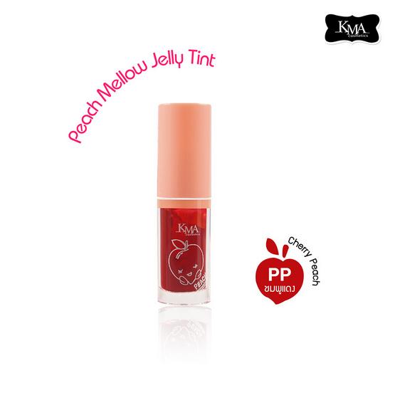 KMA Peach Mellow Jelly Tint #PP สีโทนชมพูแดง