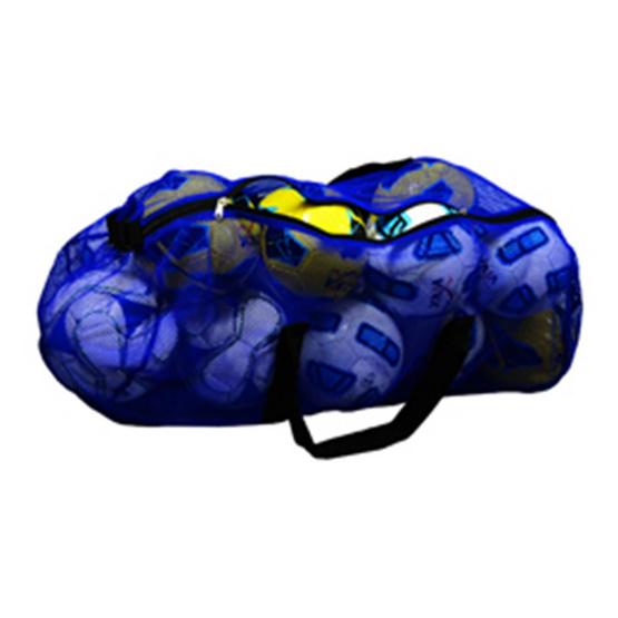VIVA กระเป๋าใส่ลูกบอลสีน้ำเงิน ไซส์ใหญ่ มีสายสะพายปรับได้ ใส่ได้ 12-14 ลูก