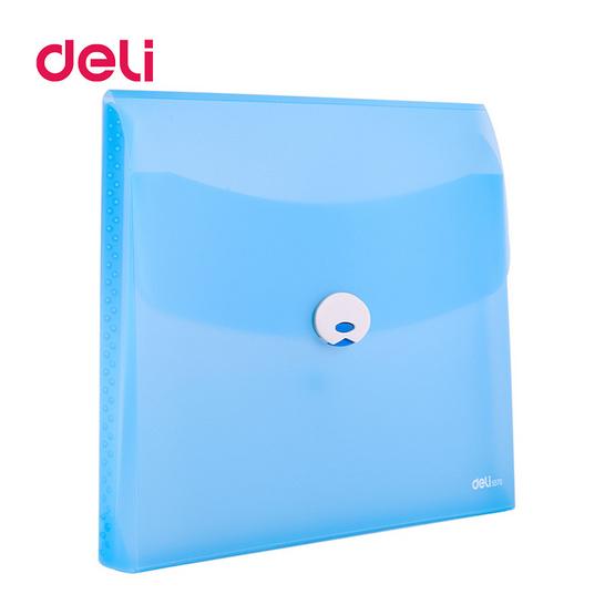 Deli 5570 กระเป๋าใส่เอกสาร A4 (คละสี 1 ชิ้น)