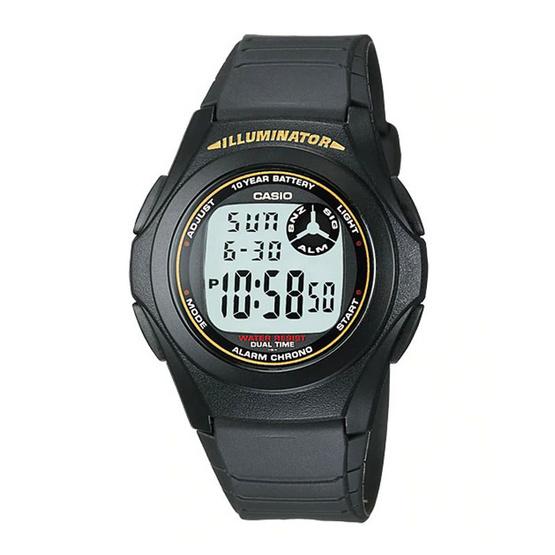 CASIO นาฬิกาข้อมือ รุ่น F200W-9ADF
