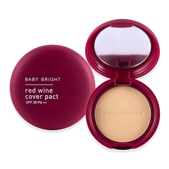 BabyBright Red Wine Cover Pact SPF30 PA++ 6.5 g #23 Medium Beige