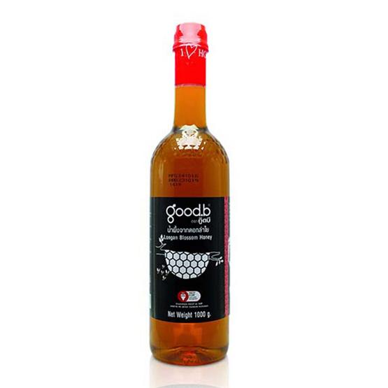 กู๊ดบี น้ำผึ้งดอกลำไย 100% ขนาด 1,000 กรัม 12 ขวด
