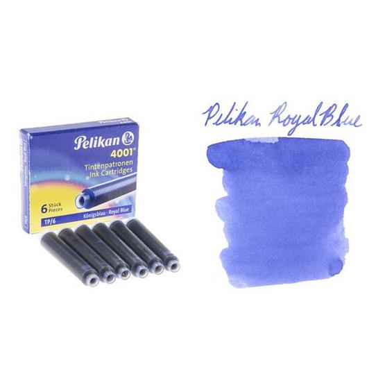 Pelikan ปากกาหมึกซึม TWIST Petrol (แถมฟรี! หมึกหลอด 2 กล่อง)