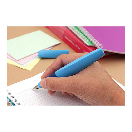 Pelikan ปากกาหมึกซึม TWIST Ultra Violet (แถมฟรี! หมึกหลอด 2 กล่อง)